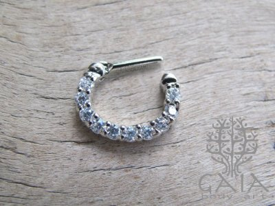 Piercing Clicker Septo White Zara