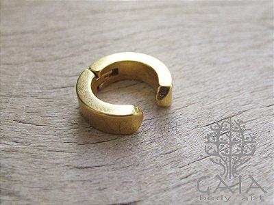 Piercing Falso Helix Trend Dourado