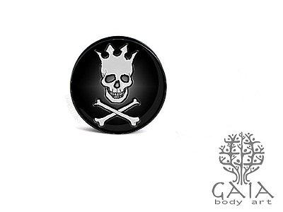 Alargador Pearl Jam Skull