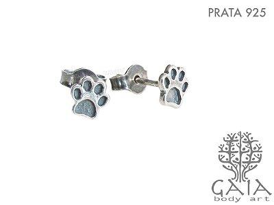 Brincos Prata 925 Patinhas [o par]
