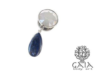 Alargador Naturae Lápis Lazuli