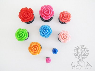 Alargador Rosa Mix Cores