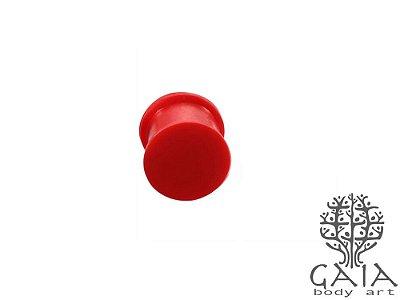 Alargador Comfy Silicone Vermelho