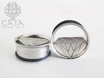 Alargador Aço Diamante