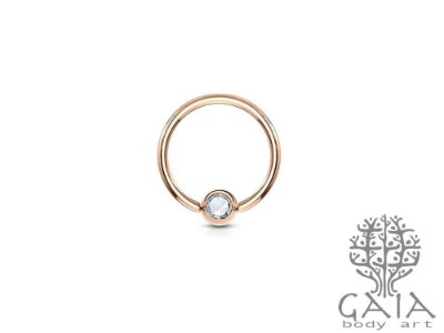 Captive Ouro Rosa Strass