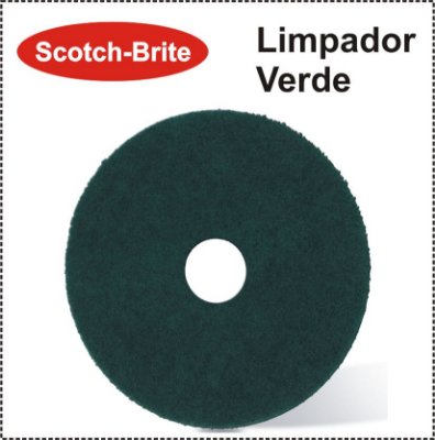 Disco Scotch-Brite Plus - Limpador Verde 3M