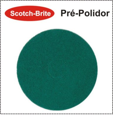 Disco Scotch-Brite Plus - Pré-Polidor Verde Claro 3M