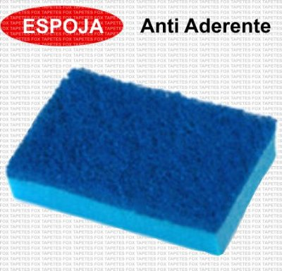 Esponja Anti Aderente - Scotch Brite 3M - 75mm X 110mm - 120 unidades