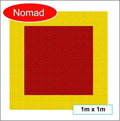 Tapete para demarcação de extintores 1m x 1m ( NOMAD 3M )