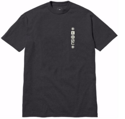 Camiseta Old City - Traços - Cinza Chumbo Mescla