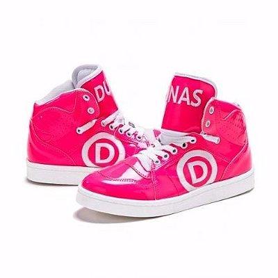 Tênis Verniz Pink