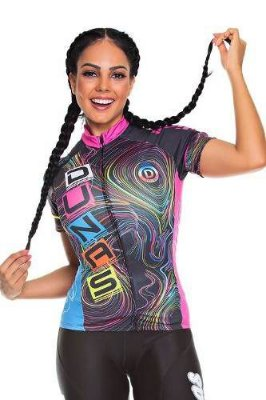 Camisa Feminina Ciclismo High Line Line Dunas