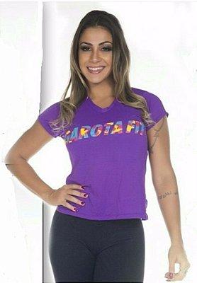 Camiseta Silk Garota Fit
