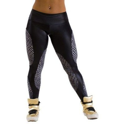 Calça Legging Surface Crocodile ZNG