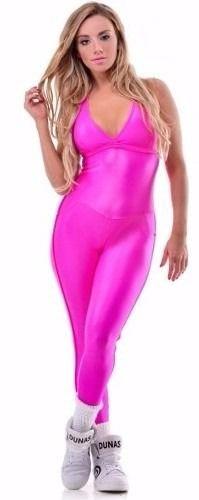 Macacão Strass Cirre Pink