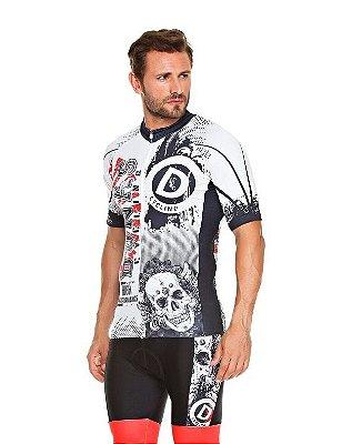 Camisa Masculina Manga Curta Skull