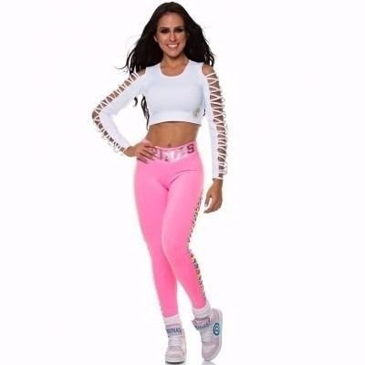 Legging Cruzada Colorida