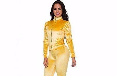 Jaqueta Dourada Angorá
