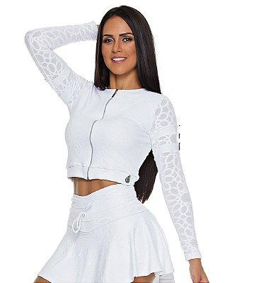 Jaqueta Mandala Branco