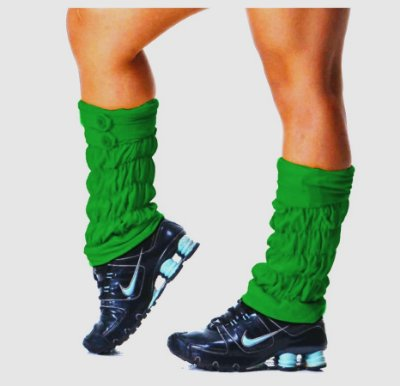 Polaina Fitness Verde Bandeira
