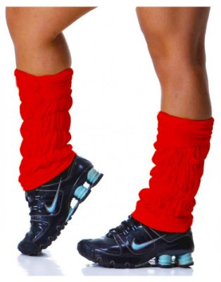 Polaina Fitness Vermelha