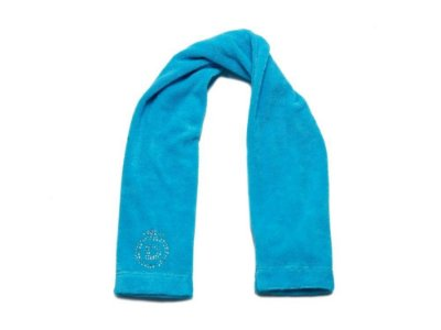 Toalha Fitness Azul Turquesa