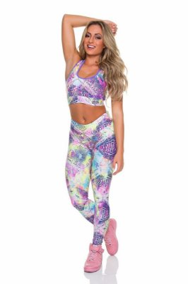 Legging Cobra Colorida