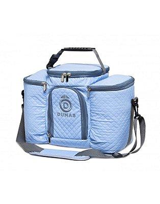 Bolsa Térmica Max Azul Bebê com Cinza