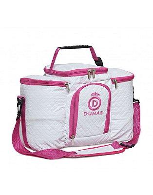 Bolsa Térmica Max Branca com Pink