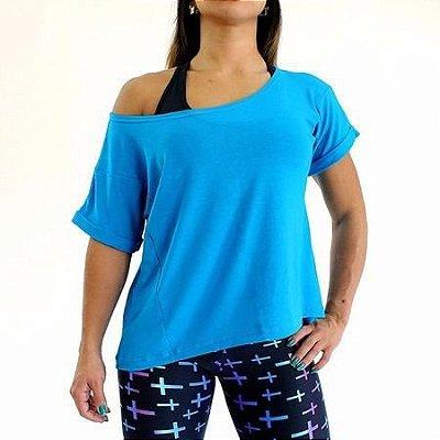 Blusa Sereia Azul