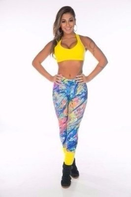 Legging Light Aquarela