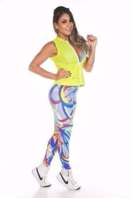 Calça Legging Light Espirais