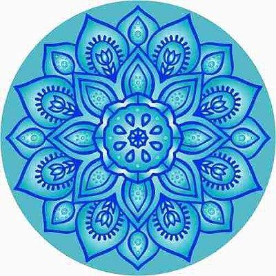 Canga Redonda Franjas Mandala