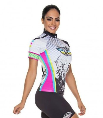 Camisa Feminina Manga Curta Speed