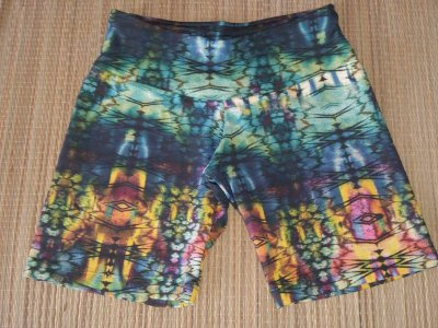 Short Verde Estampado