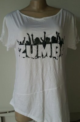 Blusa Línea Zumba Branca