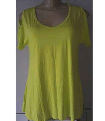 Blusa Mullet Verde Amarelado