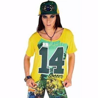 Camiseta Mullet Brasil