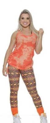 Legging Cobra Coral