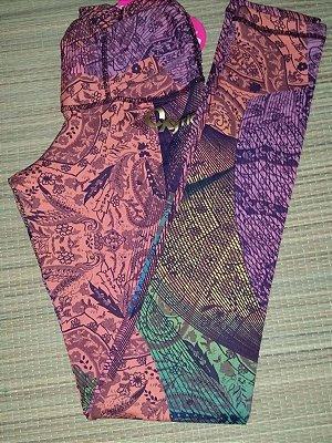 Calça Legging Cós Drapeado Colors