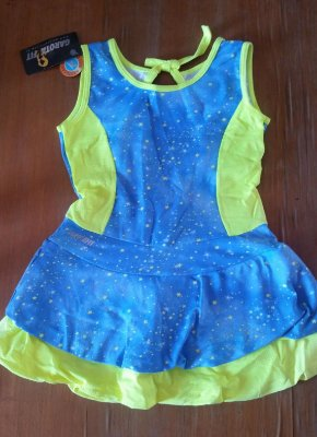 Vestido Azul Stars