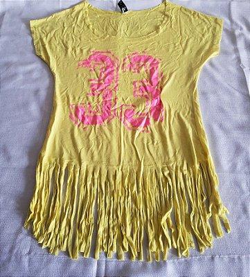 Blusa Franjas Amarela