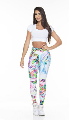 Legging Digital Dream Flower