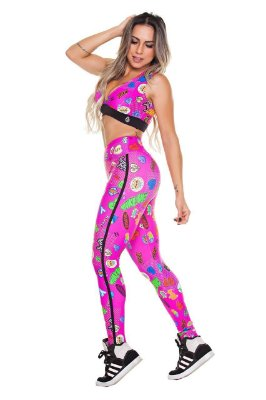Legging Digital Rosa