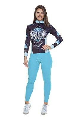 Calça Feminina Tech Azul