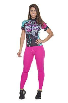 Calça Feminina Tech Pink