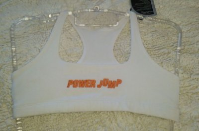 Top Nadador Branco Power Jump (COM AVARIA)