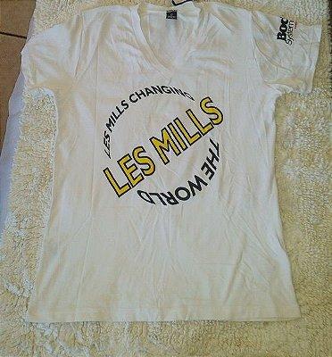 Camisa Dry Les Mills (PEQUENA AVARIA)
