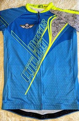 Camisa Masculina Manga Curta Azul (LINK PARA COMPRA NA DESCRIÇÃO)