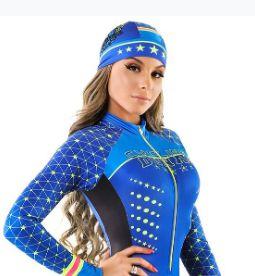 Bandana Azul Star